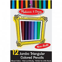 Набор для творчества Melissa&Doug Цветные карандаши 12 цветов (MD4119)