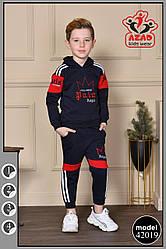 Утеплений дитячий костюм на флісі