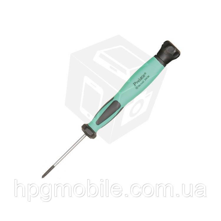 Отвертка прецизионная антистатическая Pro'sKit SD-083-P2 (крестообразная)