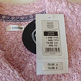 Детская вязаная кофта кардиган розовая для девочки 122 рост Cool Club, фото 3