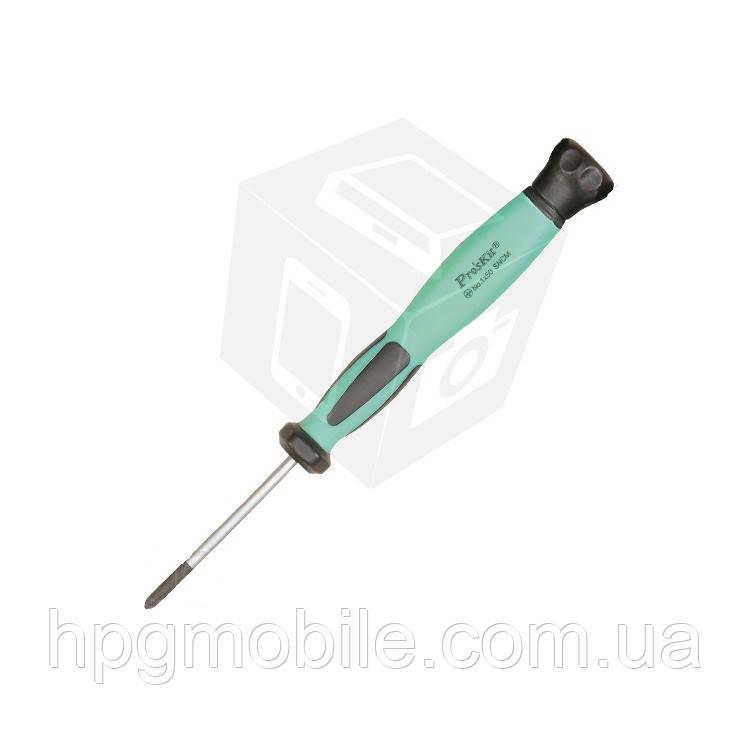 Отвертка прецизионная антистатическая Pro'sKit SD-083-P4 (крестообразная)