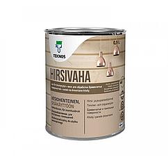 Віск Teknos Hirsivaha для обробки дерев'яних поверхонь 0.9л