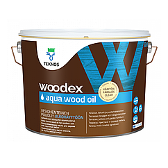 Олія для дерева Teknos Woodex Aqua Wood Oil 9л