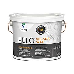 Матовий віск для колод Teknos Helo Solana Wax 2.7л