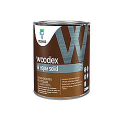 Масло для дерева Teknos Woodex Aqua Solid 0.9л Безбарвний