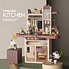 Дитячий ігровий набір інтерактивна кухня велика LIMO TOY 889-212 плита мийка духовка посуд