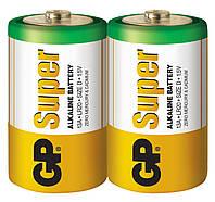 Батарейка GP 13А-S2 Super alkaline LR20 D (трей, 20/120)