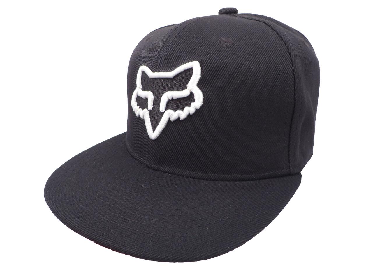 Черная кепка FOX