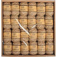 24шт. Джутовый шнур бечевка шпагат для декора отделки мотки по 10м набор