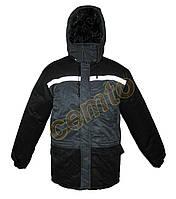 Куртка ИТР, зимняя, теплая.С капюшоном.