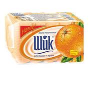 Туалетное мыло Шик Апельсин, упаковка - 5 шт по 70 г