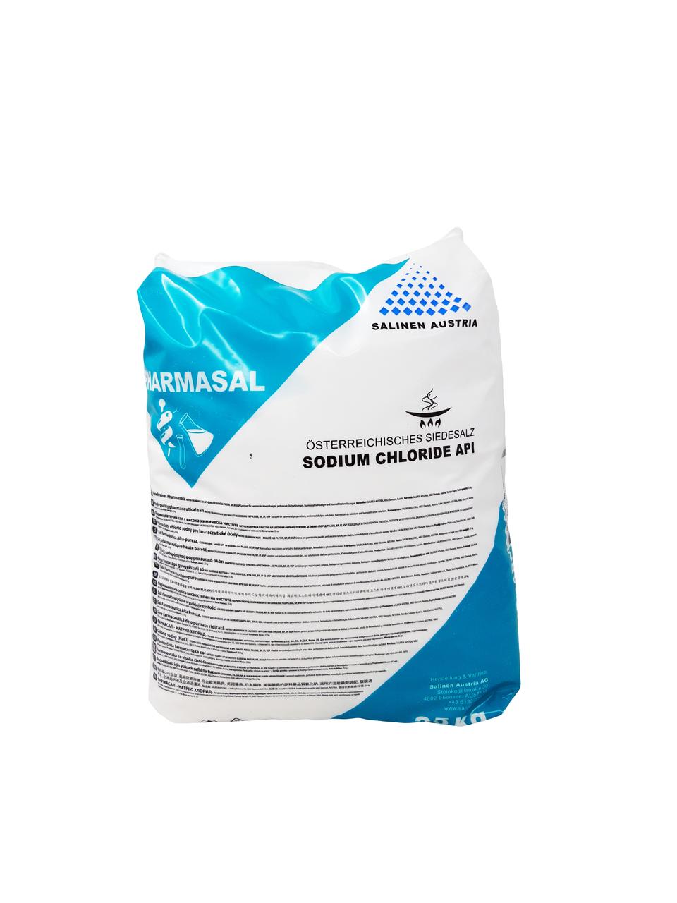 Натрий хлористый фарм. 25 кг мешок IMCoPharma Австрия