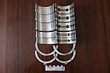Вкладыши Д-65Н / РМ-80 (усиленный вал) коренные Н1 (Тамбов), заводской № А23.01-95-65сбА1 , фото 2