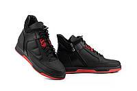 Підліткові черевики шкіряні зимові чорні Zangak 151 ч. мат+че