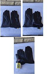 Рукавички чоловічі(унісекс) з натуральної шкіри на хутрі