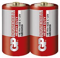 Батарейка GP 14Е-S2 Powercell R14 C (трей, 24/480)