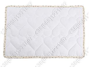 Детская стеганая силиконовая подушка для новорожденных 40х60, фото 2