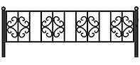 Забор для цветника