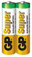 Батарейка GP 15А-S2 Super alkaline LR6 АА (трей, 40/1000)