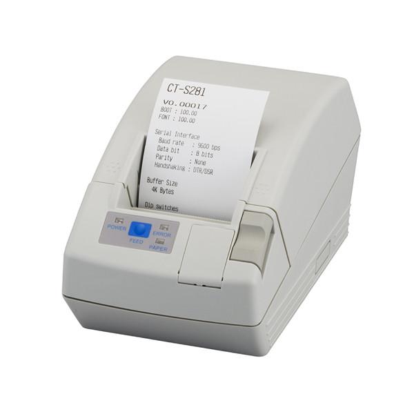 Принтер чеков Citizen CT-S281 (CTS281RSEBK) (RS232)