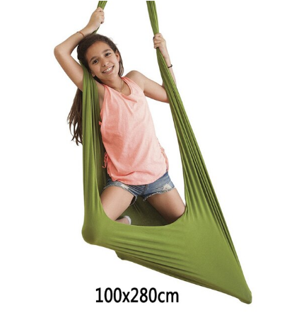 Гамак-гойдалки бавовняний для дітей і дорослих 100х280 см 5 кольорів