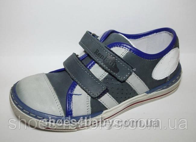 Детские кожаные кроссовки RenBut р. 30 - 19,5 см