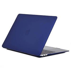 Чохол HardShell Case for MacBook Pro retina 15.4 Matte Navy Blue синій Матовий