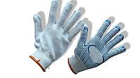 Перчатки трикотажные с ПВХ-нанесением 10 класс, 2 нити
