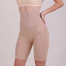 Високі ажурні стягуючі панталони, коригувальні панталони, панталони з утяжкой (2131)