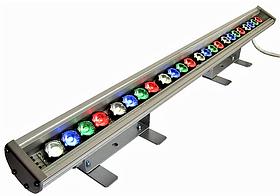 Фасадний Лінійний RGBW Led Світильник LS Line 24V 67W 790мм