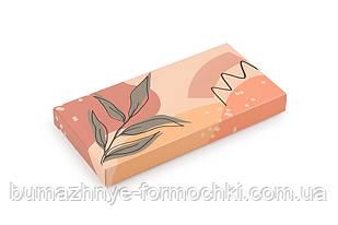 """Упаковка для шоколада, """"Листик"""", 160*80*17 мм"""