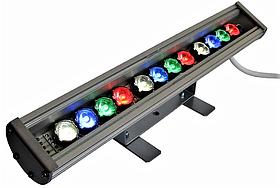 Фасадний Лінійний RGBW Led Світильник Line 12V 33W 455мм