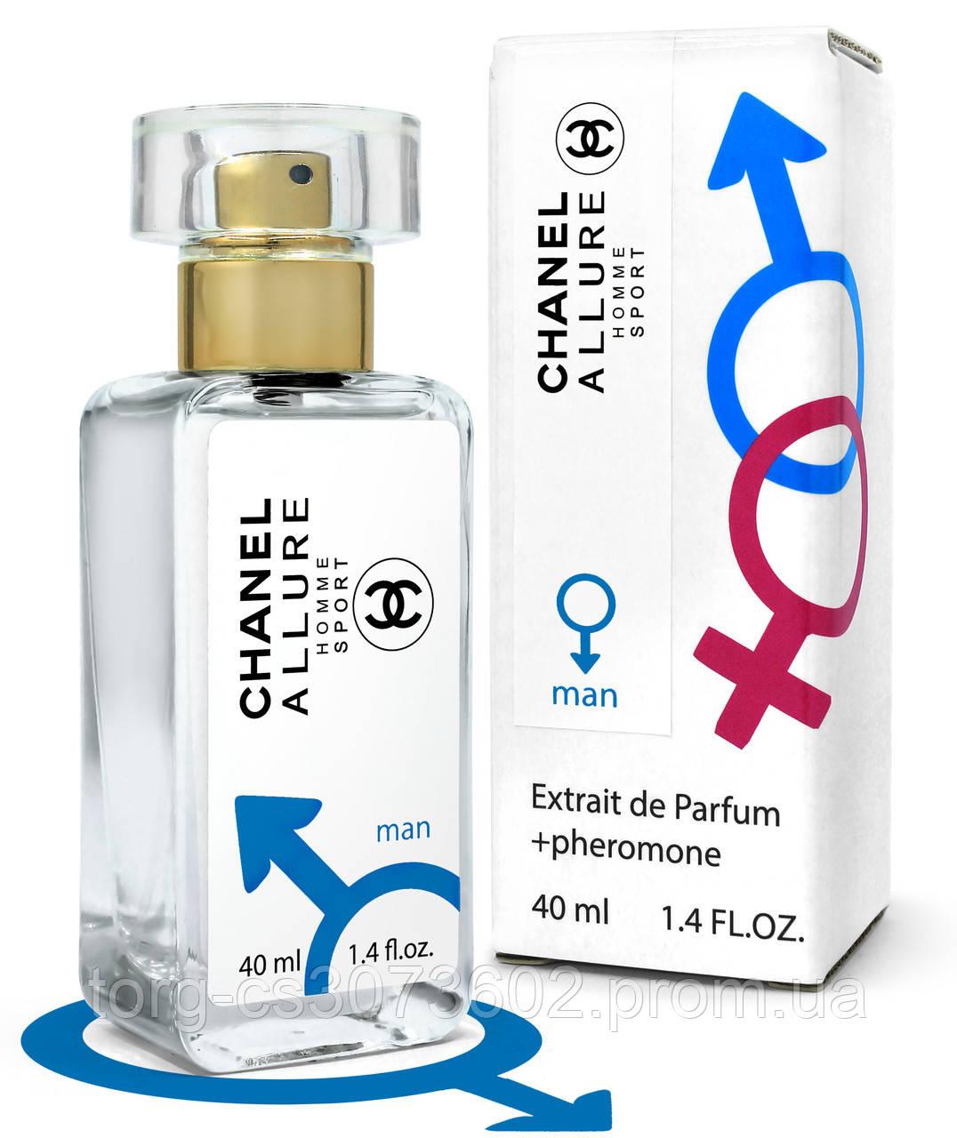 Тестер Pheromone чоловічий Chanel Allure Homme Sport, 40 мл