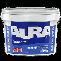 Aura Interior TR 0.9 л - Матовая интерьерная краска . База TR, Прозрачная под тонировку