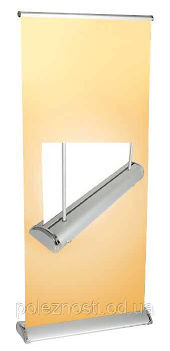 Дисплей Roll Up CRU-SC , 0,95 × 2,20 м (напольная электрическая конструкция для движущегося изображения)