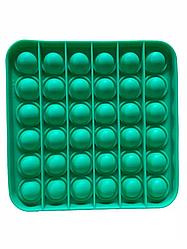 Поп Ит Антистресс Игрушка POP IT Квадрат Зеленый