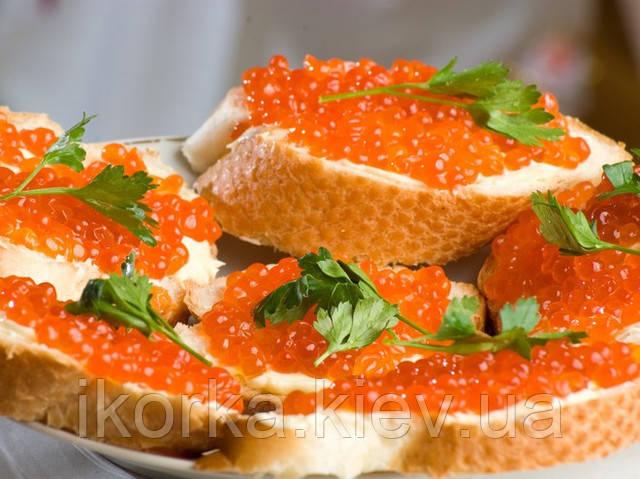 Червона ікра рецепт на бутерброд з маслом