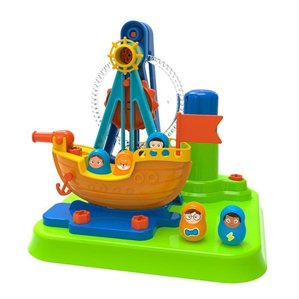 Конструктор Edu-Toys Піратський корабель з інструментами (JS026)