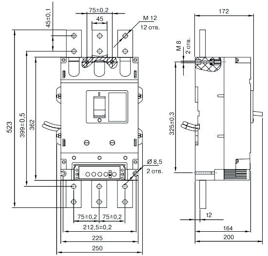Автоматический выключатель ВА55-41