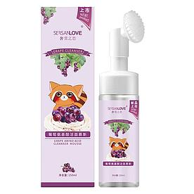 Пенка-мусс для умывания SERSANLOVE Grape Amino Acid Cleanser Mousse с экстрактом винограда 150 мл