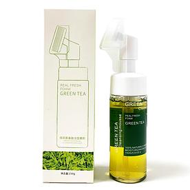 Пінка-мус для вмивання SERSANLOVE Green Tea Facial Cleansing Mousse з екстрактом зеленого чаю 150 мл