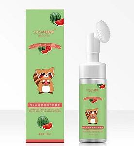 Пінка-мус для вмивання SERSANLOVE Watermelon Amino Acid Cleanser Mousse з екстрактом кавуна 150 мл