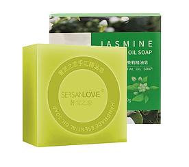 Мыло ручной работы SERSANLOVE Jasmin Essential Oil Soap с эфирным маслом жасмина 100 гр