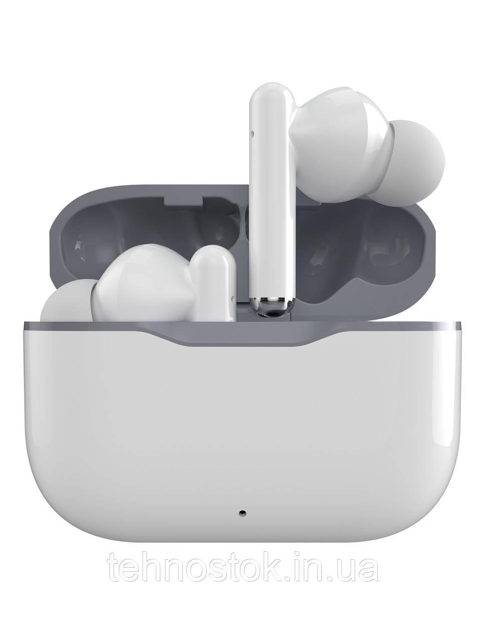 Наушники Bluetooth Ergo BS-710 Sticks Nano White UA UCRF Гарантия 12 месяцев