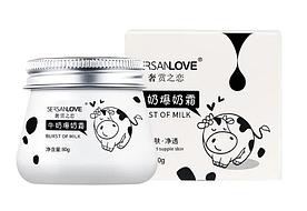 Зволожуючий крем для обличчя SERSANLOVE Burst Of Milk з протеїнами молока 80 гр