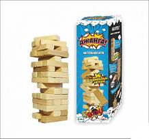 Настольная игра Дженга, 54 деревянных брусочков, Игра дженга