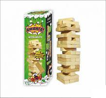 Игра Дженга, Падающая башня, 60 брусков, Игра дженга