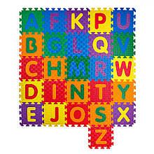 Детский  развивающий мягкий пол-пазл Алфавит 1500*1500*12