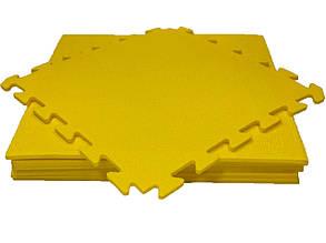 Lanor Детский мягкий пол-пазл 480*480*10мм НХ желтый