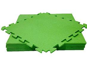 Lanor Детский мягкий пол-пазл 480*480*10мм НХ зеленый